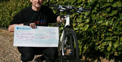 500km Bike challenge boosts funds for local alcohol awareness